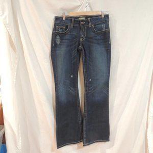 BKE Blue Denim Culture Stretch Jeans  28